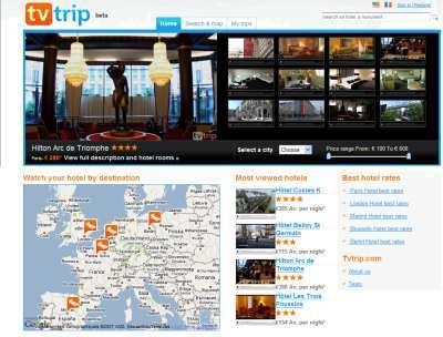 Tvtrip - site de Vidéos d'Hôtels